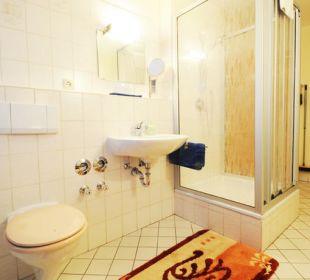 Das Badezimmer der Ferienwohnung Irmengard Wimmerhof Ising