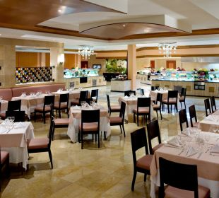 Buffet (Naranja - Orange) Grand Riviera Princess All Suites & Spa Resort