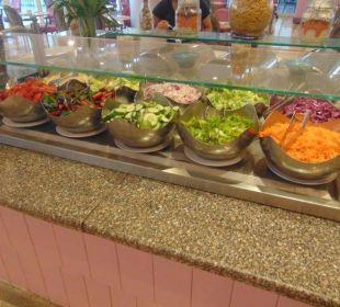 Leckere Salate Hotel Hilton Hurghada Plaza