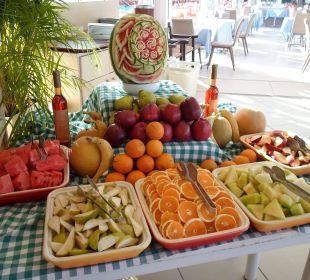 Früchtebüffet (morgens und abends) Hotel Corissia Princess