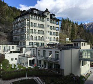 Ausblick vom Balkon MONDI-HOLIDAY First-Class Aparthotel Bellevue