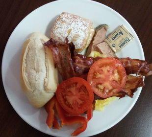 Eine winzige Auswahl vom Frühstücksbuffet Appartments Pabisa Orlando