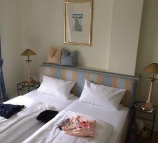 Schlafbereich Strandhotel Kurhaus Juist