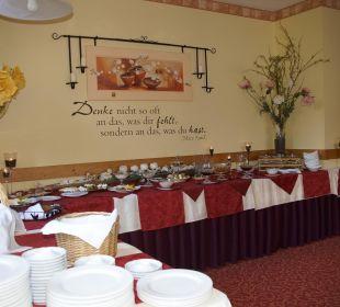 Frühstücksbüffet Hotel Bühlhaus