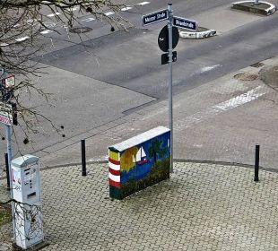Der Parkscheinautomat direkt am Hotel Hotel Kaiserhof