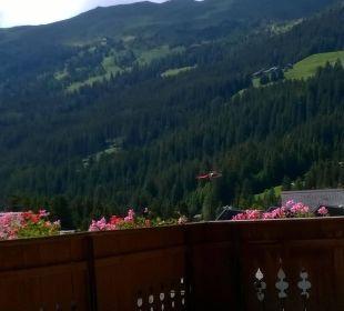 Einfach wohlsein lassen auf dem Balkon Hotel Waldhaus am See