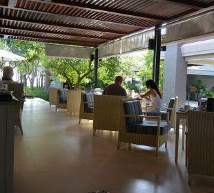 Frühstücksterrasse Hotel Rest Detail Hua Hin