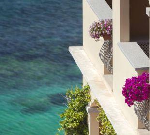 View from Sea View Room Hotel Gabbiano Azzurro