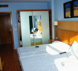 Blick ins Zimmer Villa Romana