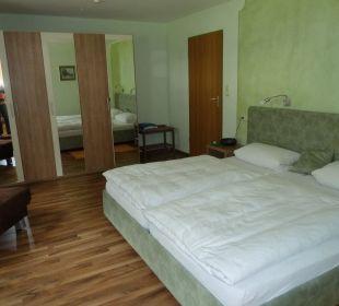 Hier haben wir sehr gut geschlafen Gästehaus Martinsklause