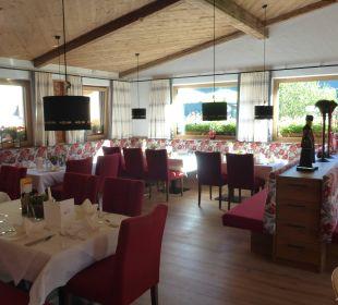 Speisesaal Hotel Alpenblume