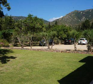 Große Gartenanlage S'Arenada Hotel