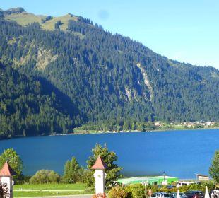 Blick vom Balkon zum Haldensee   Romantik Resort & Spa Der Laterndl Hof