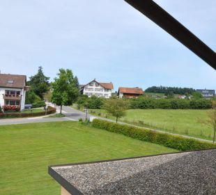 Bild vom Balkon Gästehaus Rosenhof