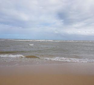 Leider nur Regen die letzten Tage und braunes Meer Grand Bahia Principe El Portillo