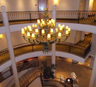 Blick auf die Lobby Hotel Travel Charme Strandidyll