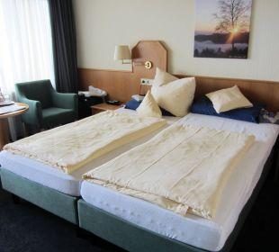 Gut schlafen auf prima Matratzen Hotel Portens Fernblick