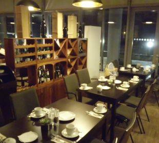 Frühstücksbereich arcona Hotel am Havelufer