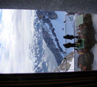 Noch ein Ausblick vom Zimmer Hotel Pilatus-Kulm