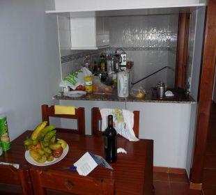 Wohnbereich mit Küche Hotel Dorotea