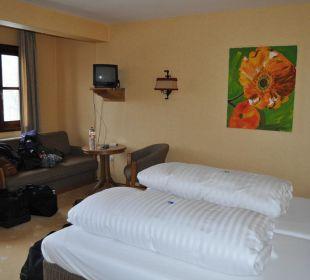 Zimmer mit Sofaecke Seehotel Gut Dürnhof
