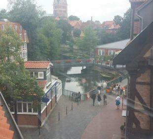Blick aus dem Fenster nach links Romantik Hotel Bergström