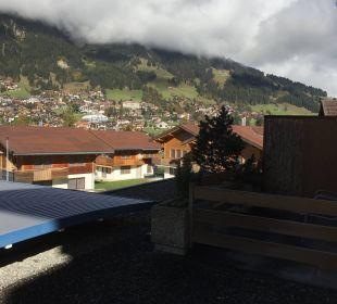 Ausblick vom Zimmer  Hotel Alpina
