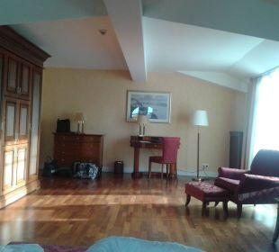 Blick vom Bett aus. Vier Jahreszeiten Kühlungsborn -  Hotel