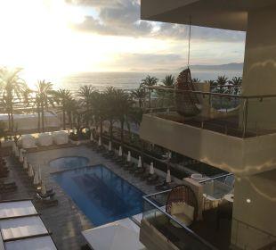 Balkon zur Meerseite Hotel Playa Golf