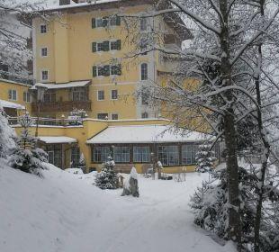Seitl. Ansicht des Hotels Hotel Alpenschlössl