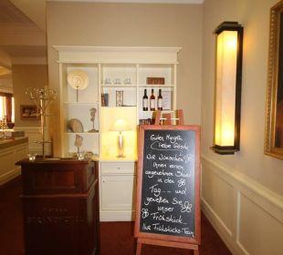 Eingang zum Restaurant Morada Strandhotel Ostseebad Kühlungsborn
