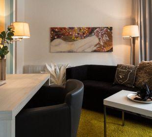Wohnraum Suite Hotel Tide42