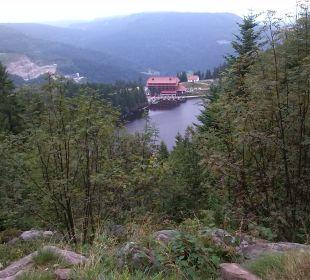 Außenansicht Berghotel Mummelsee