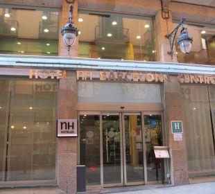 Eingang NH Barcelona Centro