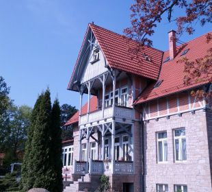 Eingang Hoffmanns Gästehaus
