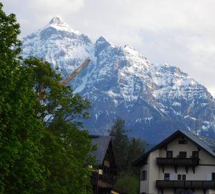 Blick aus dem Zimmer Hotel Bon Alpina