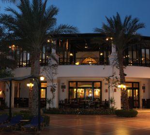Blick zum Restaurant Jaz Dahabeya