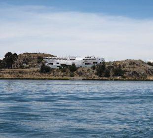 Hotelanlage auf der Isla Esteves Hotel Libertador Lago Titicaca