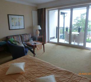 Blick zum Balkon Grand Hotel Binz by Private Palace Hotels & Resorts
