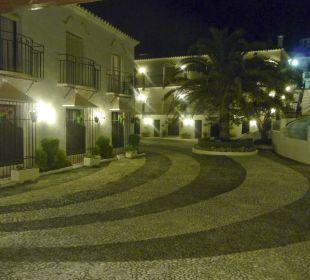 Einfahrt zum Hotel TRH Mijas