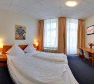 Zweibettzimmer Hotel Terminus