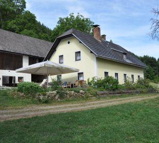 Ansicht hinten Naturhof Hojoutz