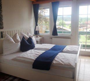 Schlafzimmer-moderner Landhausstil Landhaus Klopein