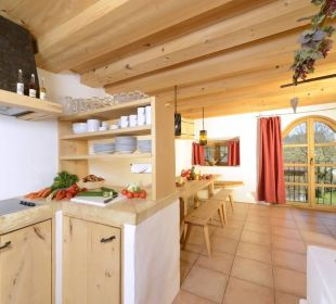 Ferienwohnung Getreidekasten Küche Hotel Hagerhof