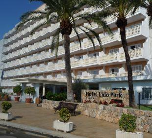 Lido Park Eingang Universal Hotel Lido Park
