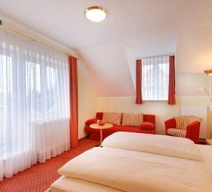 Doppelzimmer Hotel Kriemhild am Hirschgarten