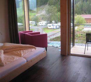 Doppelzimmer mit Blick Garten & See Hotel Fischer am See