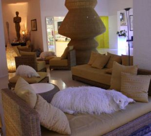 Lobby CalaCuncheddi Resort & Marina