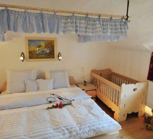 Ferienwohnung Mühle Schlafzimmer Eltern Hotel Hagerhof