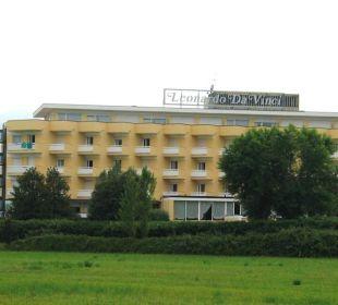 Ruhige Lage außerhalb Abanos Hotel Leonardo Da Vinci